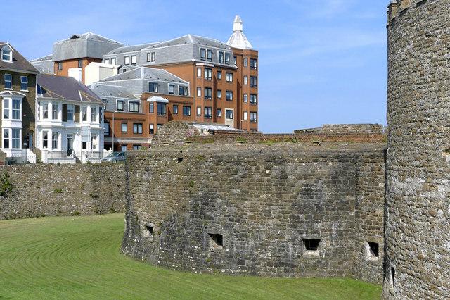 Old Castle, New Housing, Deal, Kent