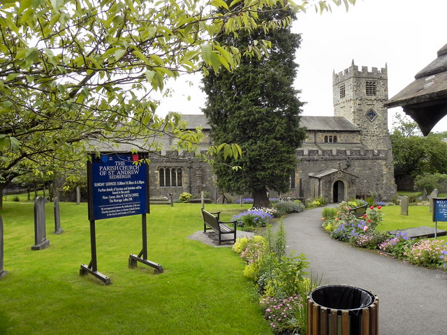 The Parish Church of St Andrew, Sedbergh