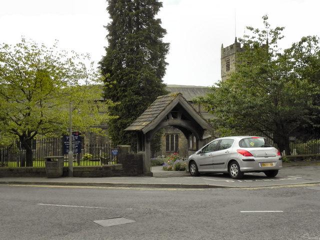 Parish Church and Lychgate, Sedbergh