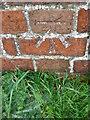 NZ0825 : Bench Mark, Copley Lane by Maigheach-gheal