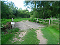 SU6859 : Wide bridge over a drain by Sandy B