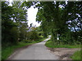 TM3872 : Yoxford Road & footpaths to Sibton Green & A144 by Adrian Cable