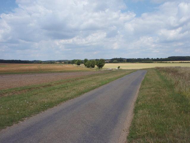 Road to Lodge Spa Farm