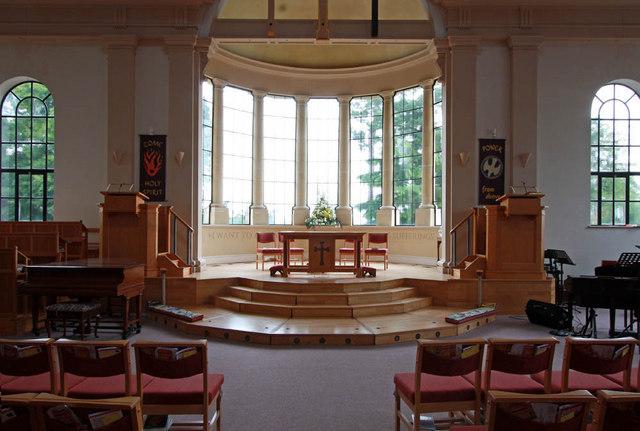 All Saints, Crowborough - Sanctuary