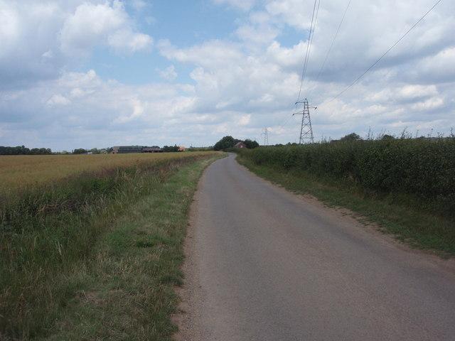 Road to Manthorpe