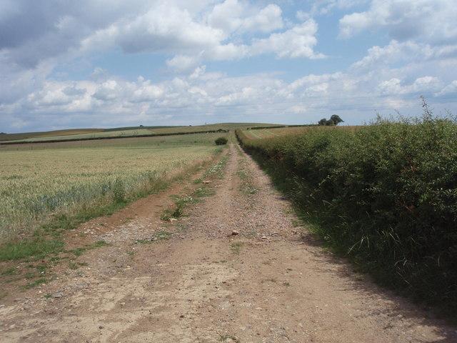 Farm track near Obthorpe