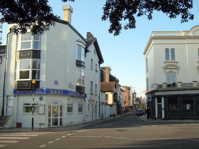 Southsea - Castle Road from Western Terrace