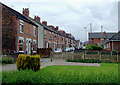 SJ9050 : Terraced housing at Milton, Stoke-on-Trent by Roger  Kidd