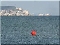 SZ1891 : Mudeford: a bright red buoy by Chris Downer