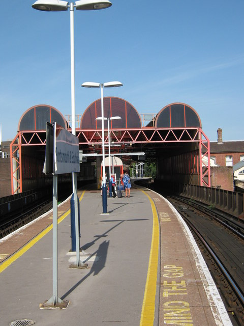 Portsmouth & Southsea Railway Station Platform
