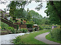 SJ9050 : Caldon Canal at Milton, Stoke-on-Trent by Roger  Kidd