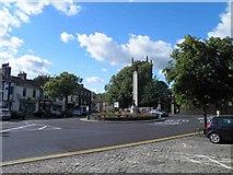 SD9951 : Skipton war memorial by Steve  Fareham