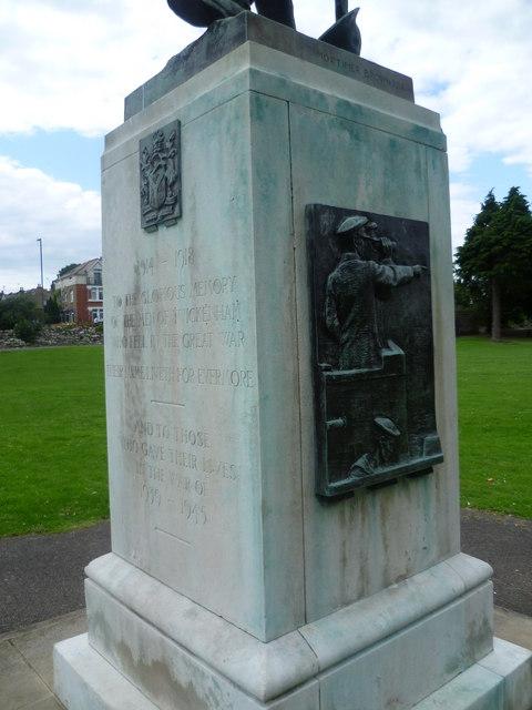Detail of Twickenham War Memorial