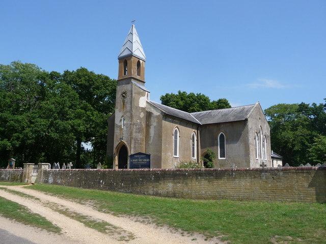 South Baddesley: parish church of St. Mary the Virgin