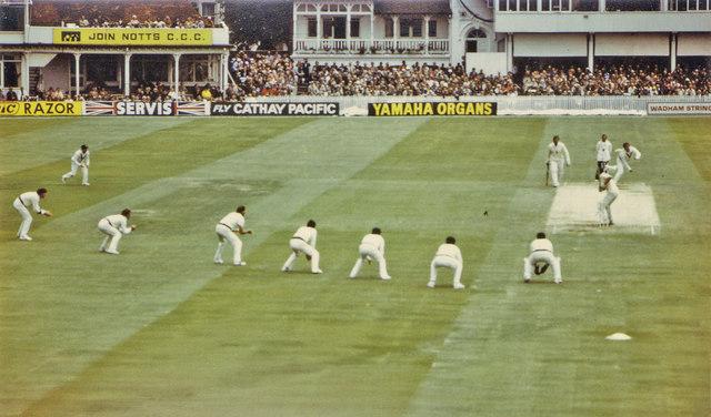 Trent Bridge Test Match, 1981: Alderman to Gower