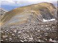 NN1972 : Rocky descent of Aonach Beag by Peter S