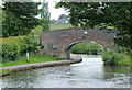 SJ9051 : Heakley Hall Bridge near Stockton Brook, Staffordshire by Roger  Kidd