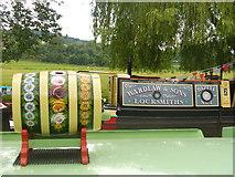 SU9948 : Narrow Boat Art by Colin Smith