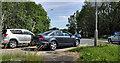 J1561 : Motorway slip-road, Moira (3) by Albert Bridge