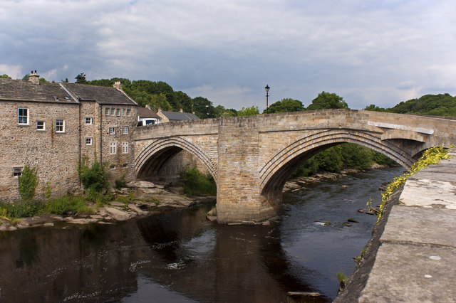 County Bridge over the River Tees at Barnard Castle