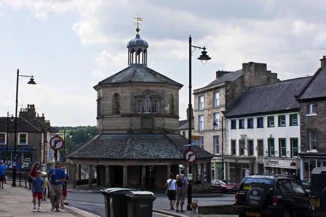 Barnard Castle - Town centre