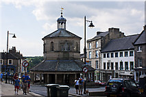 NZ0516 : Barnard Castle - Town centre by Ian Greig