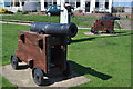 TM5176 : Cannons at Southwold by Ashley Dace