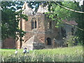 SP2772 : Outer wall, Kenilworth Castle by Michael Westley