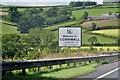 SX3584 : West Devon : Welcome to Cornwall by Lewis Clarke