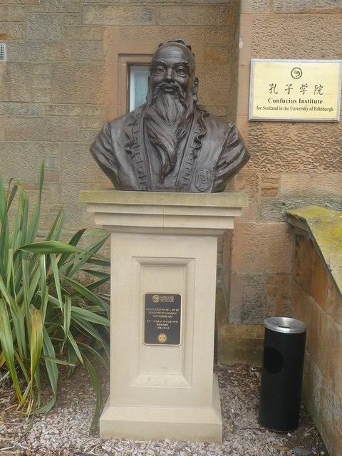 Bust of Confucius, (591BC - 479BC)