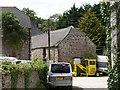 SX5254 : Barn, Wixenford Farm by Derek Harper