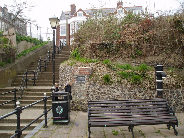 Admiral Duncan's Pump & steps to the White Lion
