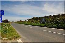 SX0682 : North Cornwall : Westdown Road by Lewis Clarke