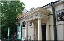 TQ2673 : Earlsfield Library by N Chadwick
