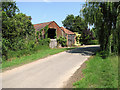TM3787 : Mill Lane, Ilketshall St Andrew's by Evelyn Simak