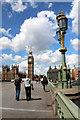 TQ3079 : Westminster Bridge, London by Christine Matthews