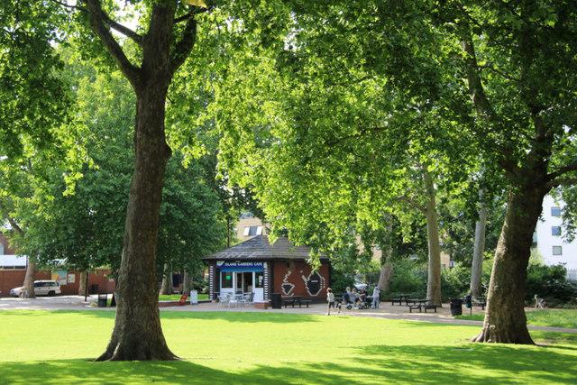 Island Gardens, Docklands