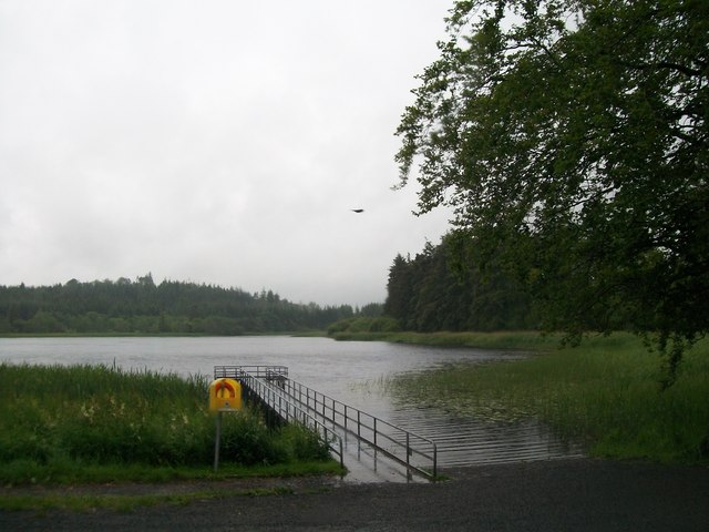 Jetty at Castle Lake Bailieboro', Co Cavan