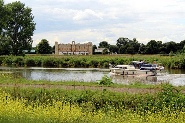 Syon House and River Thames, Kew, London