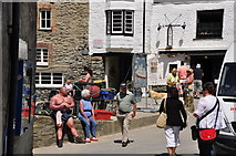 SW9980 : Port Isaac : Fore Street by Lewis Clarke