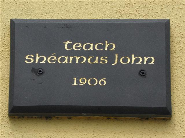Plaque, Teach Shéamus John