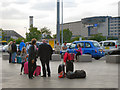 SJ8185 : Waiting For Taxis, Manchester Airport Terminal 1 by David Dixon