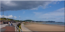 SH8678 : The promenade at Old Colwyn by Ian Greig