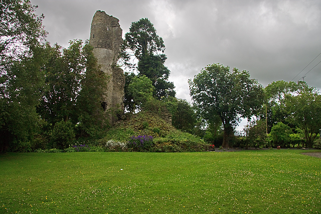 Castles of Leinster: Castle Jordan, Meath (1)