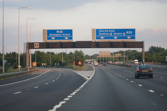 m25 junction 16 169 oast house archive geograph britain