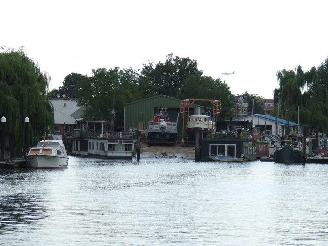 Boathouse near Twickenham