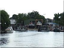 TQ1672 : Boathouse near Twickenham by Malc McDonald