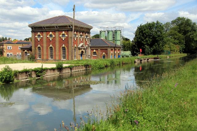 Pumping Station, New River, Broxbourne, Hertfordshire