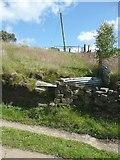 SE0125 : Hebden Royd Footpath 61 (branch), Mytholmroyd by Humphrey Bolton