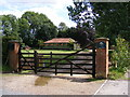 TG0524 : The entrance to The Old Hall by Adrian Cable